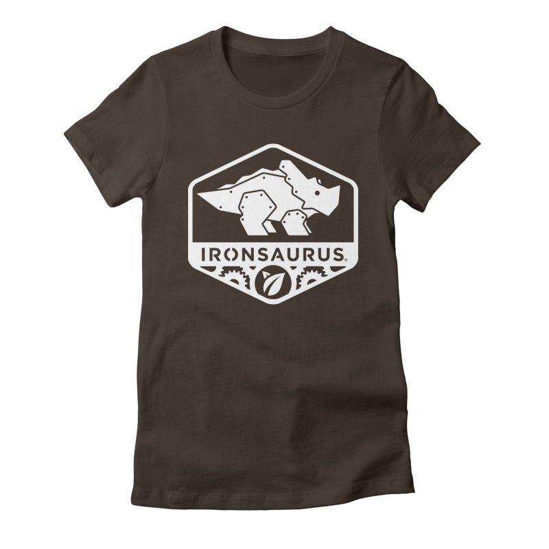 IRONSAURUS Oficial Brand Women's Fitted T-Shirt by IRONSAURUS SHOP