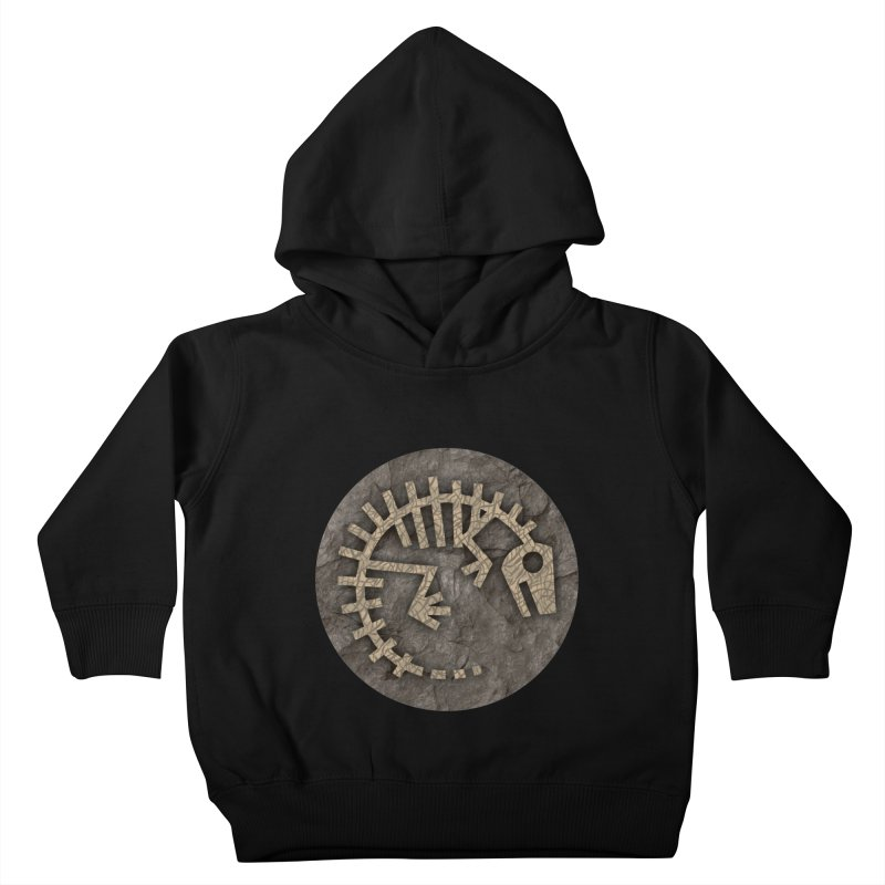Baby Rex Fossil Kids Toddler Pullover Hoody by IRONSAURUS SHOP