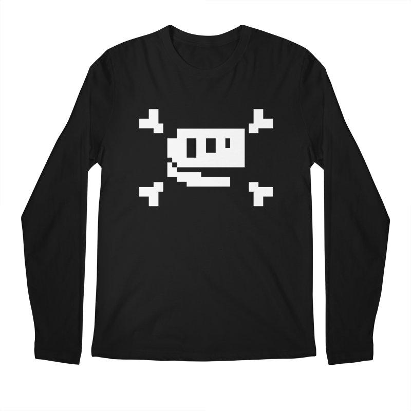 Crossbones Rex - J8P Men's Longsleeve T-Shirt by IRONSAURUS SHOP