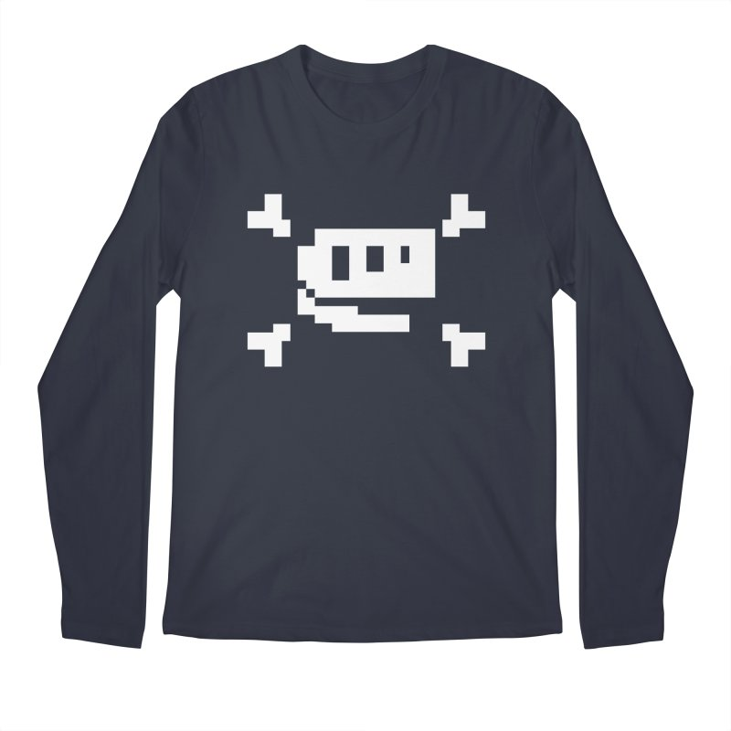 Crossbones Rex - J8P Men's Longsleeve T-Shirt by IRONSAURUS SHOP
