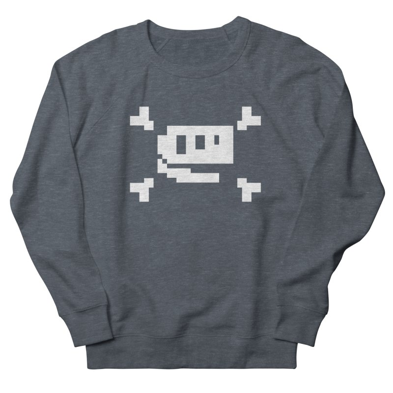 Crossbones Rex - J8P Men's Sweatshirt by IRONSAURUS SHOP