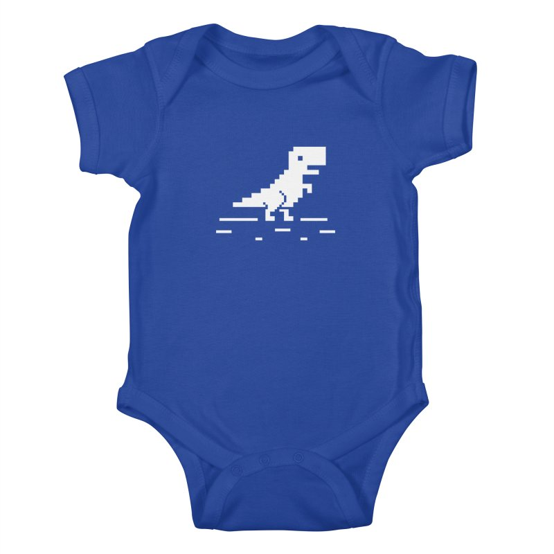 Rex - J8P Kids Baby Bodysuit by IRONSAURUS SHOP