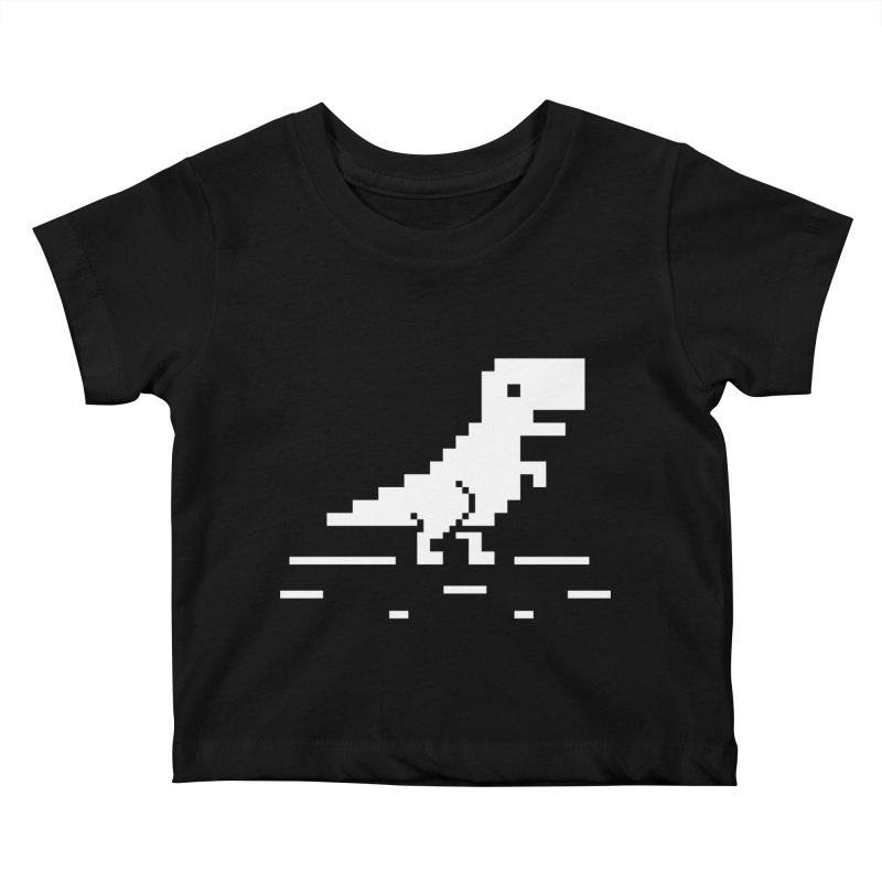 Rex - J8P Kids Baby T-Shirt by IRONSAURUS SHOP