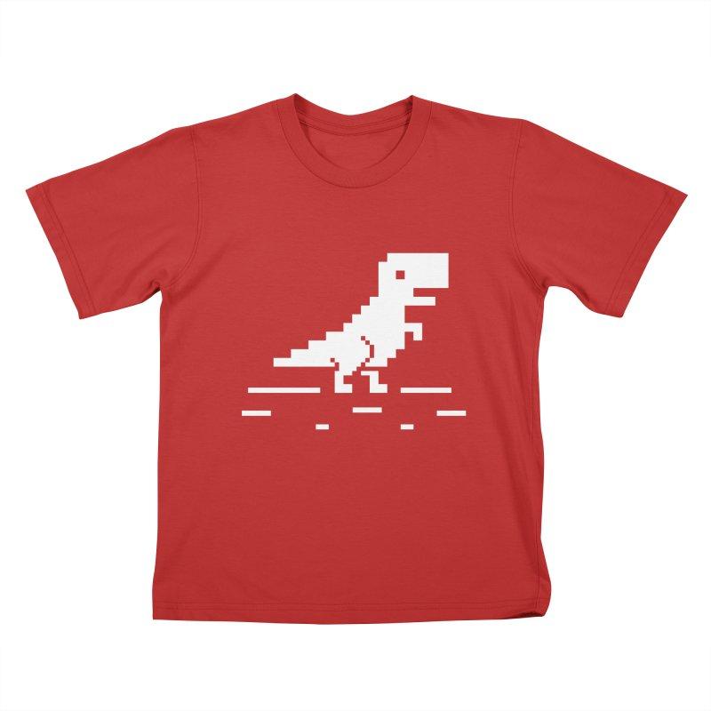 Rex - J8P Kids T-Shirt by IRONSAURUS SHOP