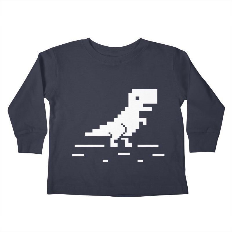 Rex - J8P Kids Toddler Longsleeve T-Shirt by IRONSAURUS SHOP