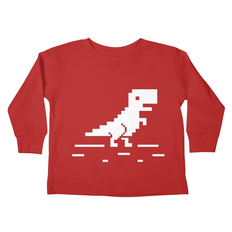 Rex - J8P Kids Toddler Longsleeve T-Shirt by IRONSAURUS SHOP