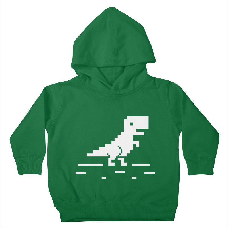 Rex - J8P Kids Toddler Pullover Hoody by IRONSAURUS SHOP