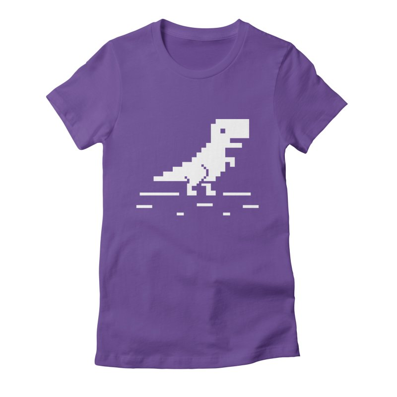 Rex - J8P Women's Fitted T-Shirt by IRONSAURUS SHOP