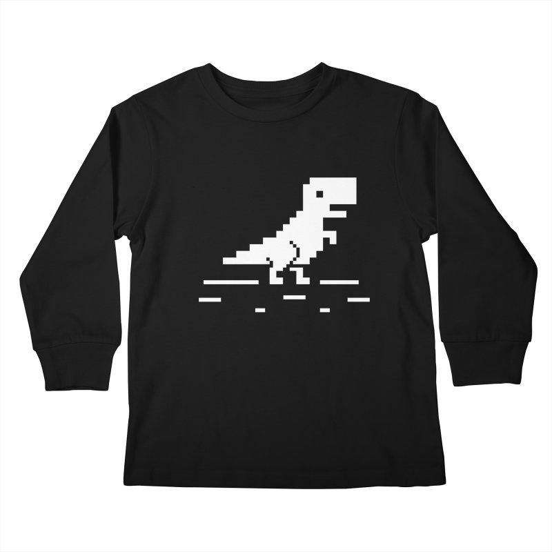 Rex - J8P Kids Longsleeve T-Shirt by IRONSAURUS SHOP