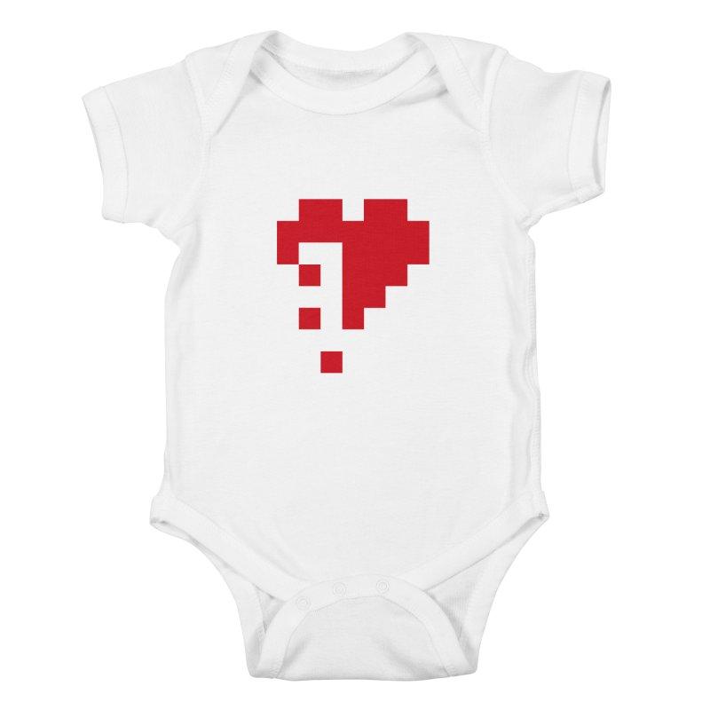 Bleeding Bits Kids Baby Bodysuit by IRONSAURUS SHOP