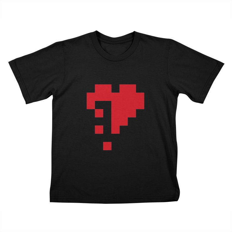 Bleeding Bits Kids T-Shirt by IRONSAURUS SHOP