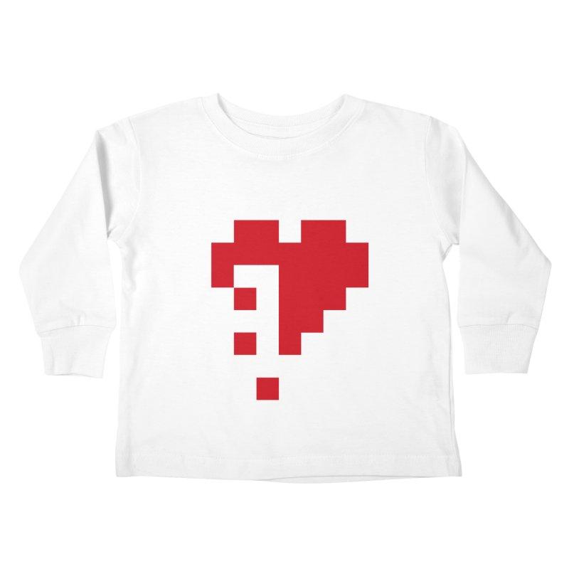 Bleeding Bits Kids Toddler Longsleeve T-Shirt by IRONSAURUS SHOP