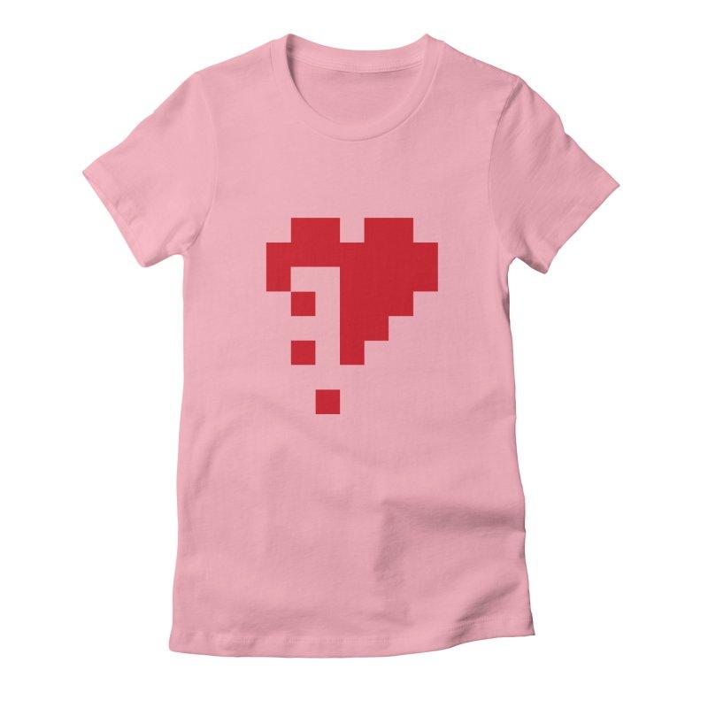Bleeding Bits Women's Fitted T-Shirt by IRONSAURUS SHOP