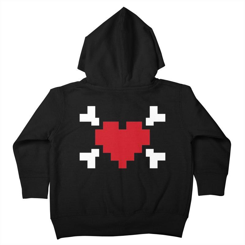Crossbones Heart   by IRONSAURUS SHOP