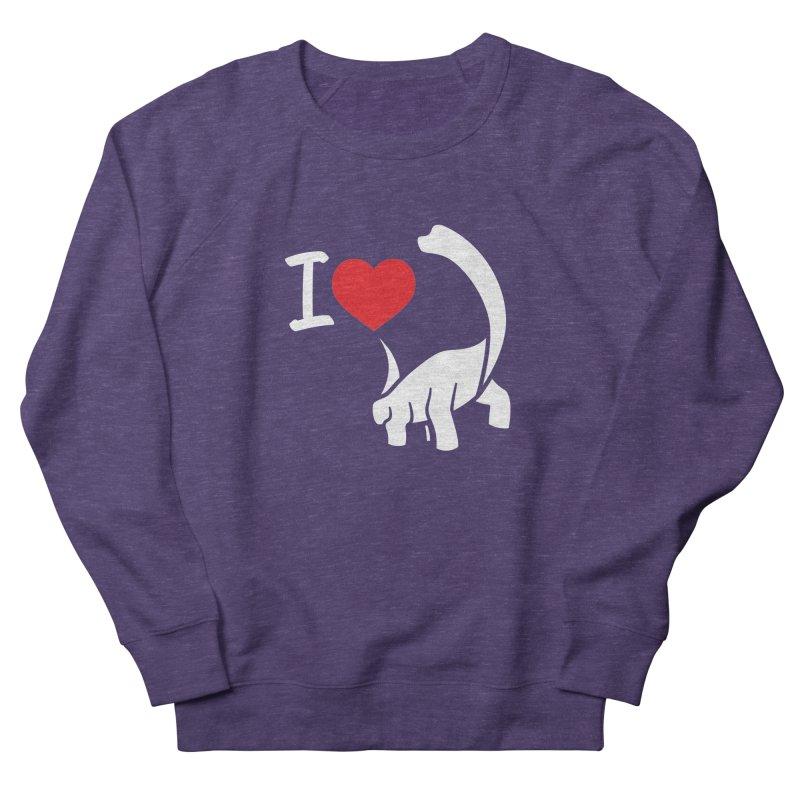 I Love Dinos <3 Women's Sweatshirt by IRONSAURUS SHOP