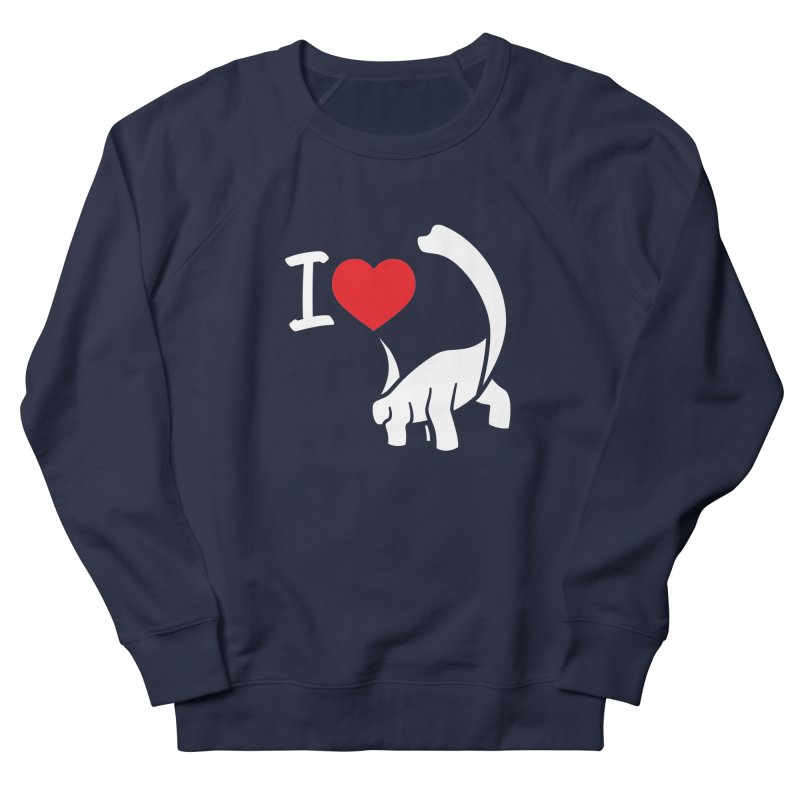 I Love Dinos <3 Men's Sweatshirt by IRONSAURUS SHOP
