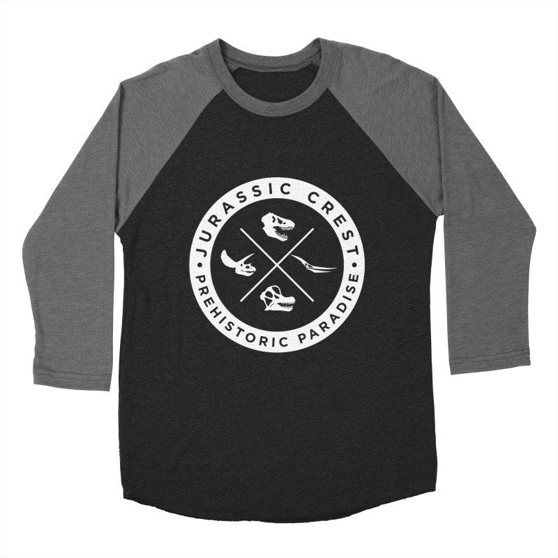 Prehistoric Paradise - JC Women's Baseball Triblend T-Shirt by IRONSAURUS SHOP