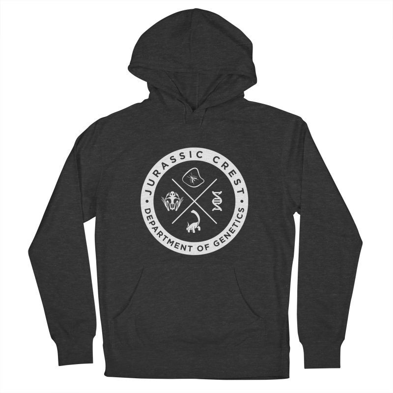 Department of Genetics - JC Men's French Terry Pullover Hoody by IRONSAURUS SHOP