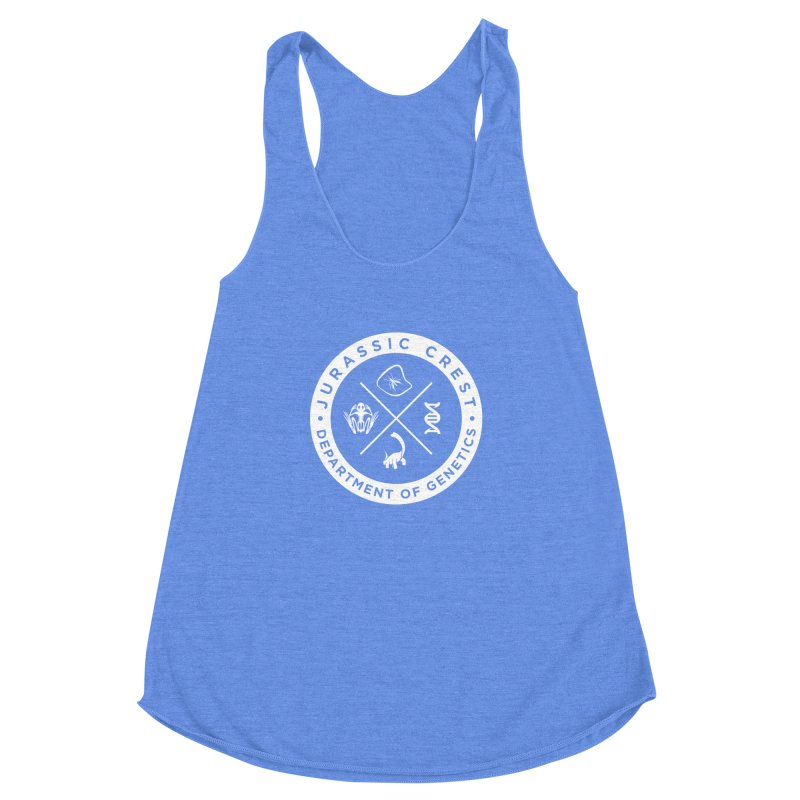 Department of Genetics - JC Women's Racerback Triblend Tank by IRONSAURUS SHOP