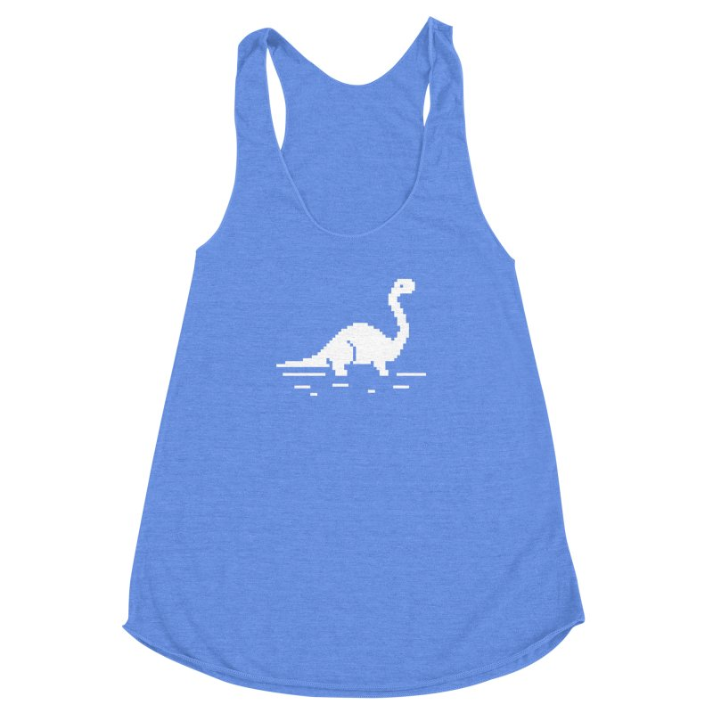Bronty - J8P Women's Racerback Triblend Tank by IRONSAURUS SHOP