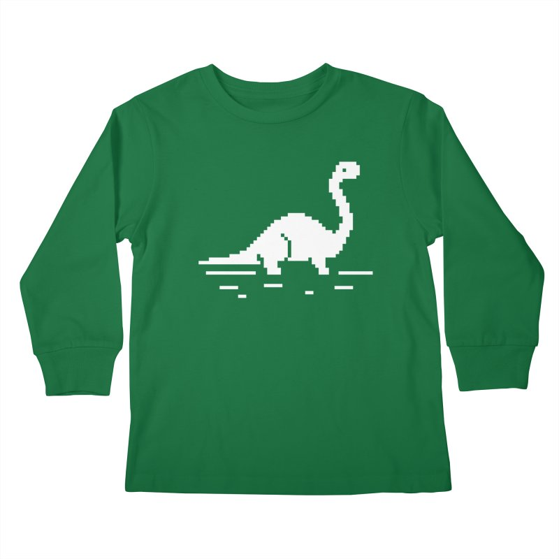 Bronty - J8P Kids Longsleeve T-Shirt by IRONSAURUS SHOP