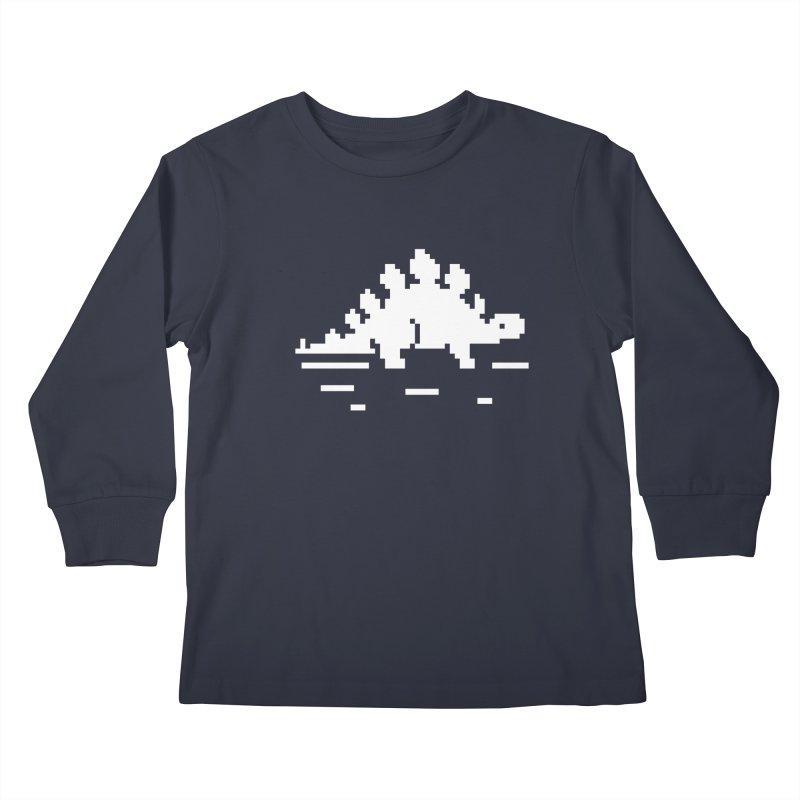 Spikes - J8P Kids Longsleeve T-Shirt by IRONSAURUS SHOP