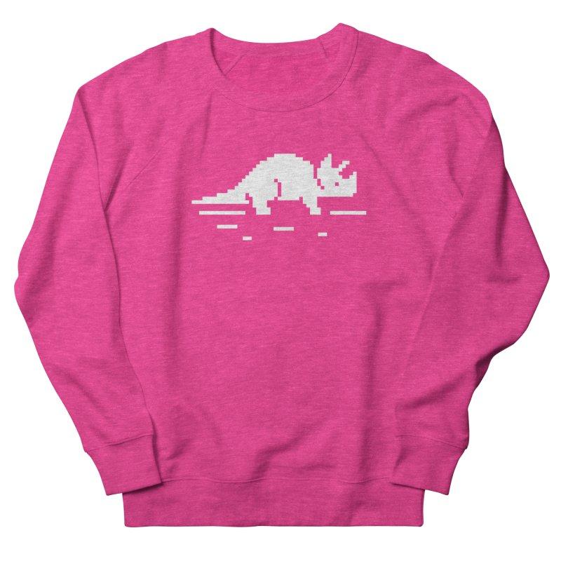 Ceratop - J8P Women's French Terry Sweatshirt by IRONSAURUS SHOP