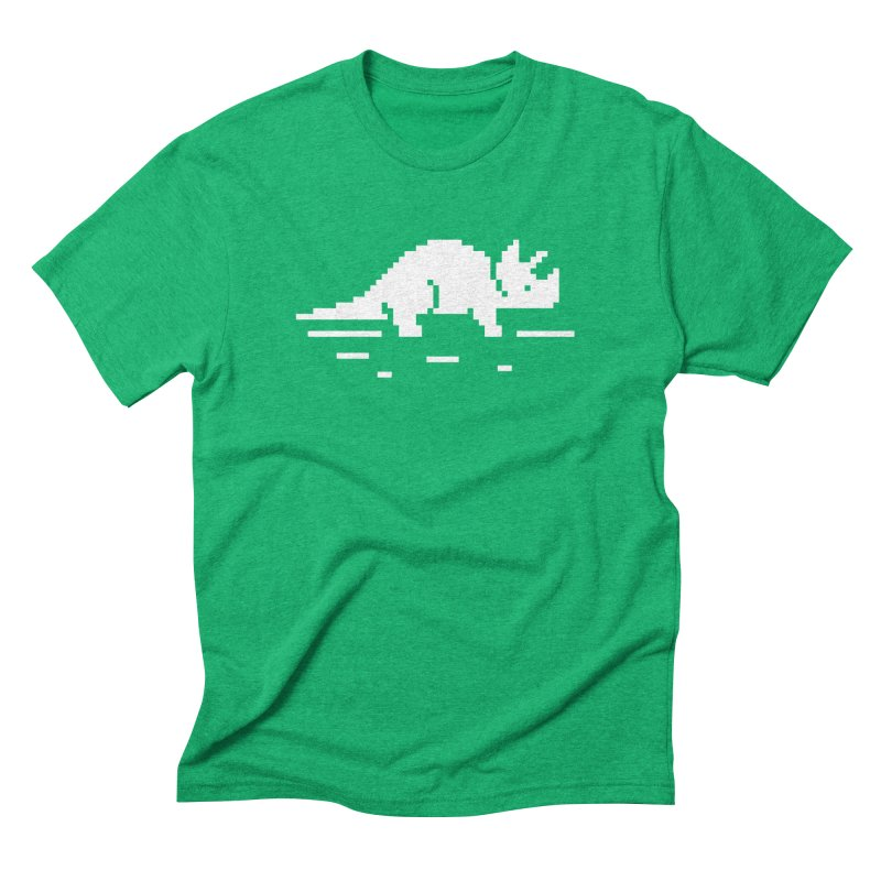Ceratop - J8P Men's Triblend T-Shirt by IRONSAURUS SHOP