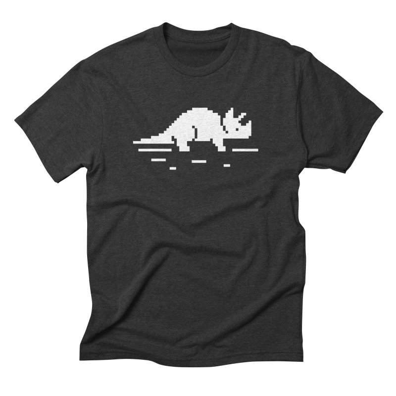 Ceratop - J8P Men's Triblend T-shirt by IRONSAURUS SHOP