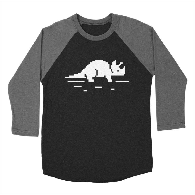 Ceratop - J8P Women's Baseball Triblend T-Shirt by IRONSAURUS SHOP