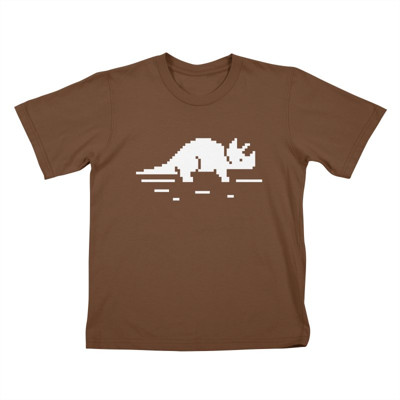 Ceratop - J8P Kids T-Shirt by IRONSAURUS SHOP