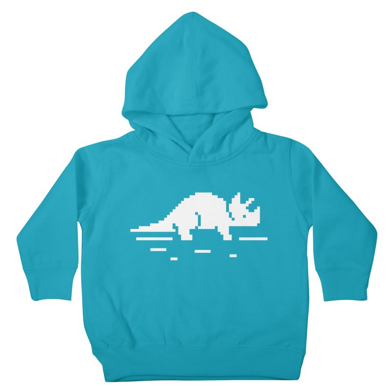 Ceratop - J8P Kids Toddler Pullover Hoody by IRONSAURUS SHOP