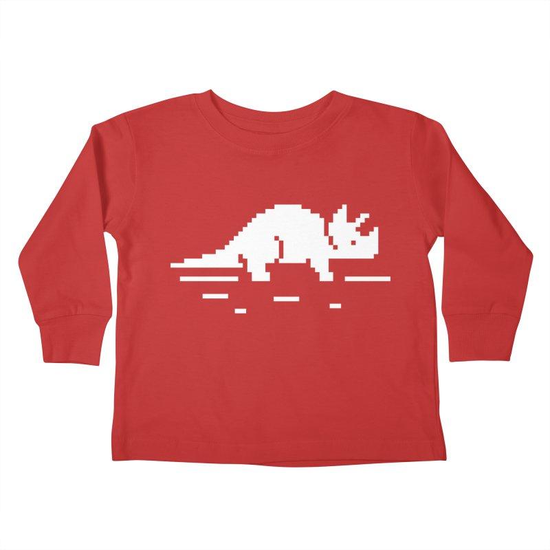 Ceratop - J8P Kids Toddler Longsleeve T-Shirt by IRONSAURUS SHOP