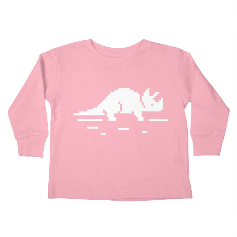 Ceratop - J8P Kids Toddler Longsleeve T-Shirt by IRONSAURUS SHOP