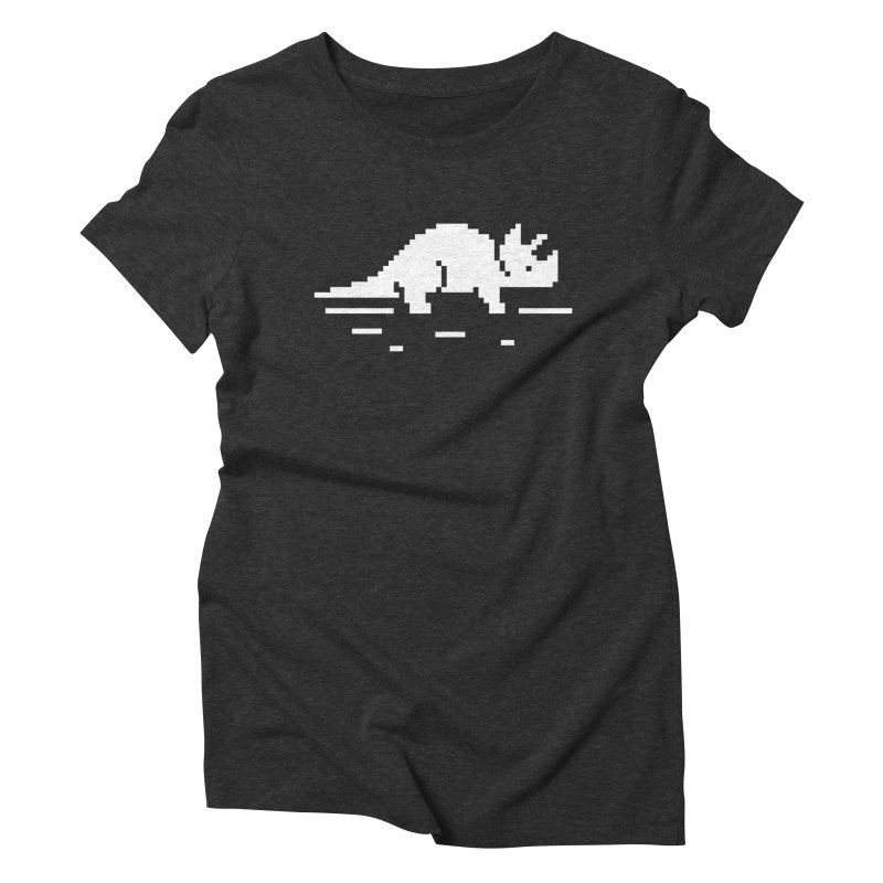 Ceratop - J8P Women's Triblend T-shirt by IRONSAURUS SHOP