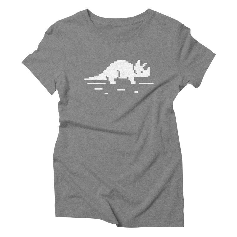 Ceratop - J8P Women's Triblend T-Shirt by IRONSAURUS SHOP