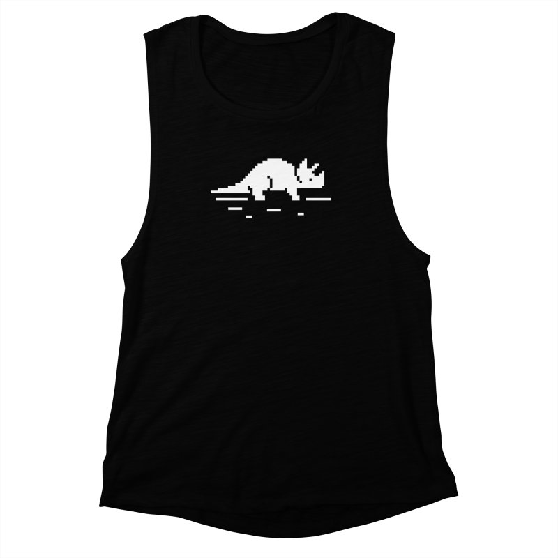Ceratop - J8P Women's Muscle Tank by IRONSAURUS SHOP
