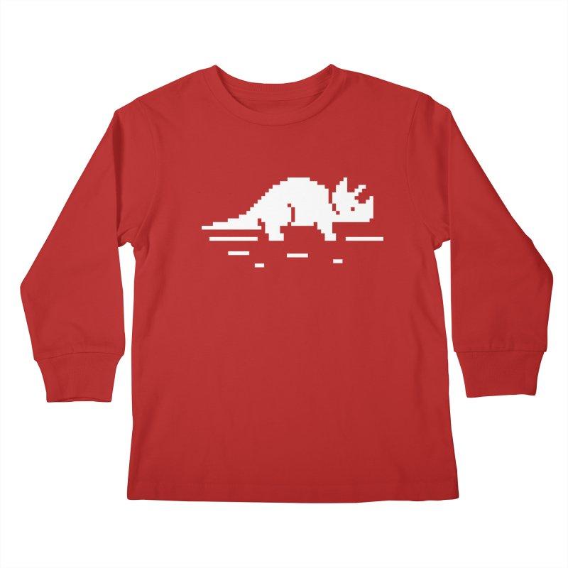 Ceratop - J8P Kids Longsleeve T-Shirt by IRONSAURUS SHOP