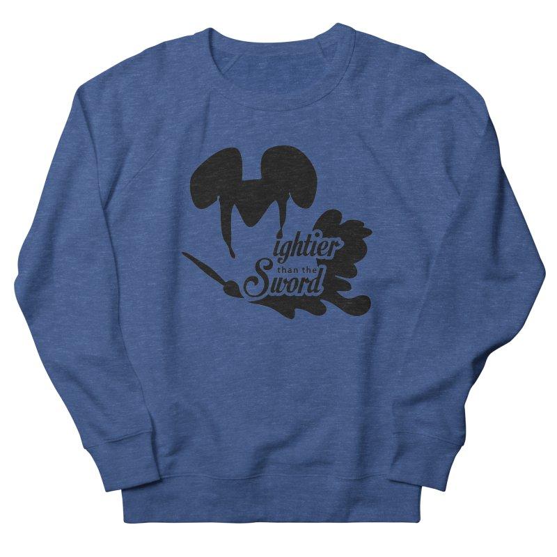 Mightier than the Sword - D80 Women's Sweatshirt by IRONSAURUS SHOP