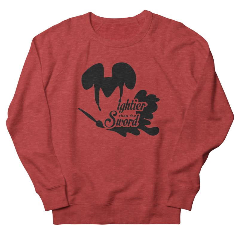 Mightier than the Sword - D80 Women's Sweatshirt by IRONSAURUS SHOP