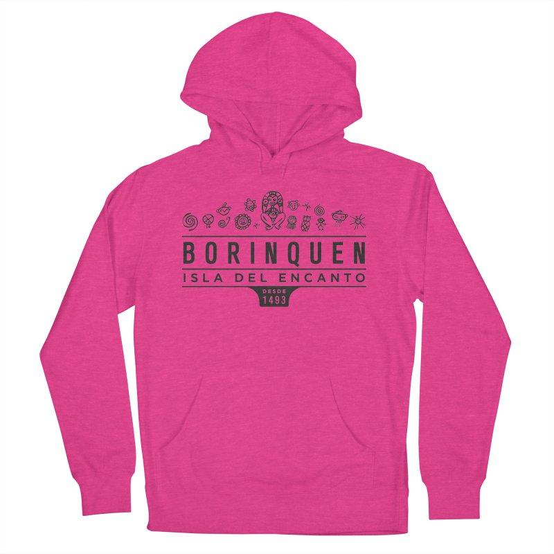 Boriquen Isla del Encanto - PR Women's Pullover Hoody by IRONSAURUS SHOP