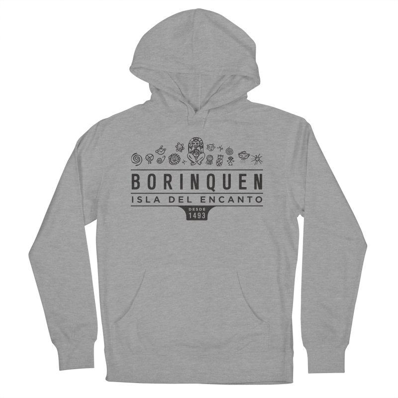 Boriquen Isla del Encanto - PR Men's Pullover Hoody by IRONSAURUS SHOP