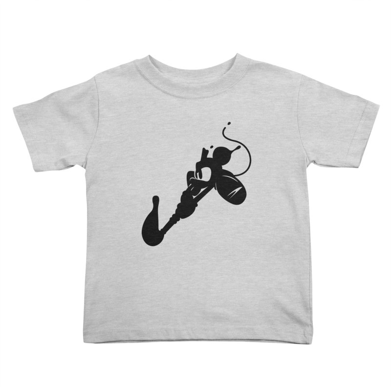 The Mighty Ink - D80 Kids Toddler T-Shirt by IRONSAURUS SHOP