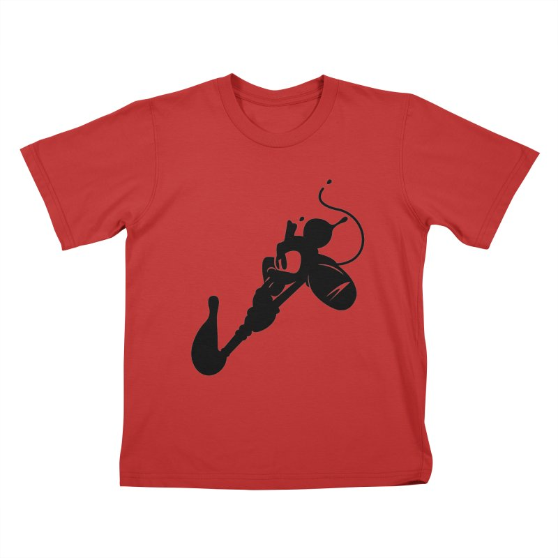 The Mighty Ink - D80 Kids T-Shirt by IRONSAURUS SHOP