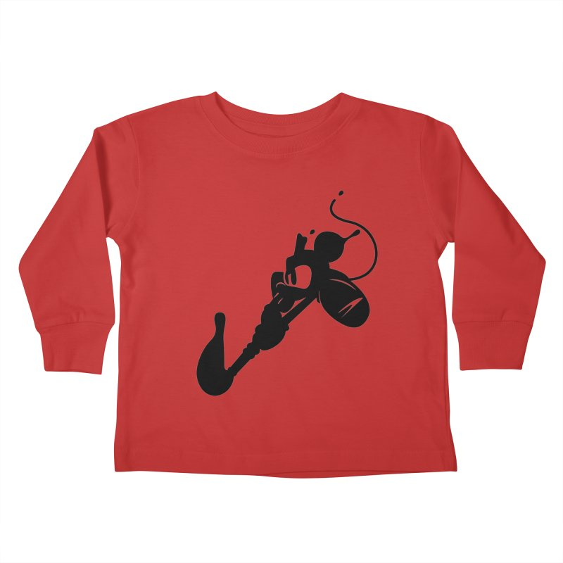 The Mighty Ink - D80 Kids Toddler Longsleeve T-Shirt by IRONSAURUS SHOP