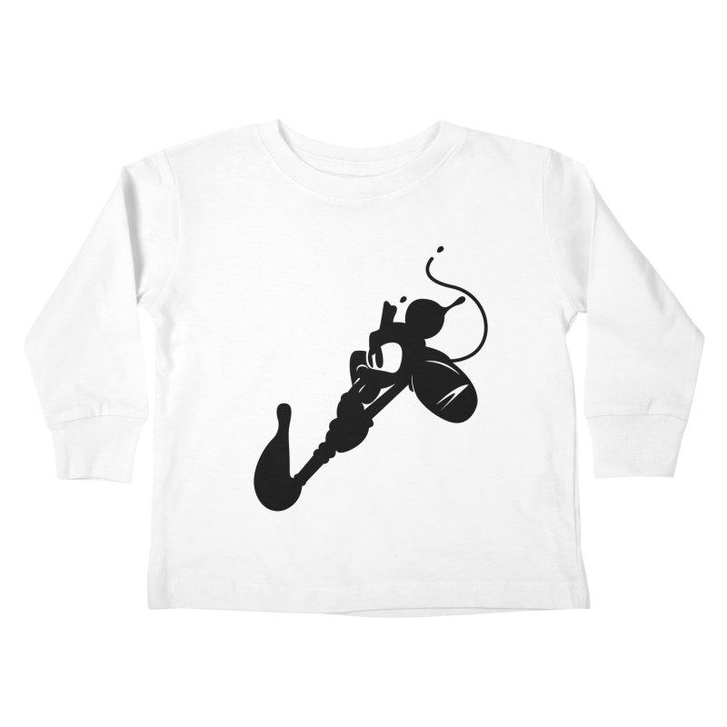 The Mighty Ink - D80 Kids Toddler Longsleeve T-Shirt by IRONSAURUS SHOP
