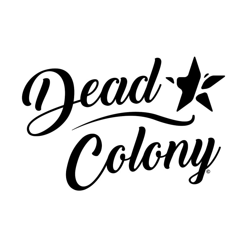 Dead Colony Star - Black - DC Men's Baseball Triblend T-Shirt by IRONSAURUS SHOP