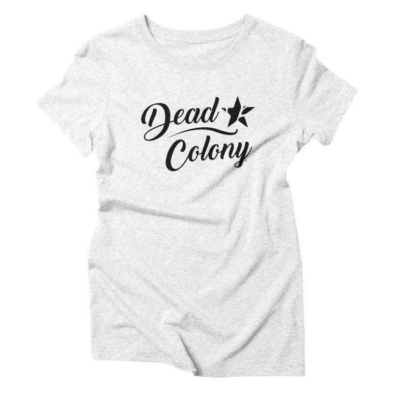 Dead Colony Star - Black - DC   by IRONSAURUS SHOP