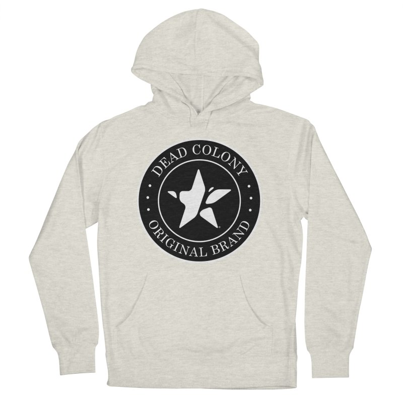Dead Colony Star Seal - Black - DC Men's Pullover Hoody by IRONSAURUS SHOP