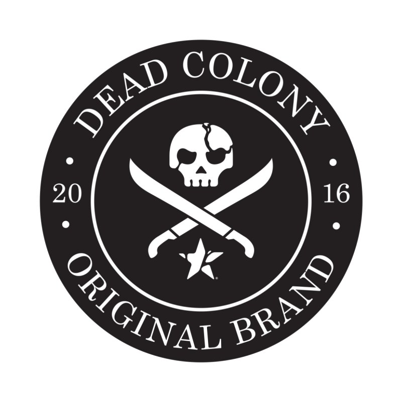 Dead Colony Pirate Seal - Black - DC Men's Triblend T-shirt by IRONSAURUS SHOP